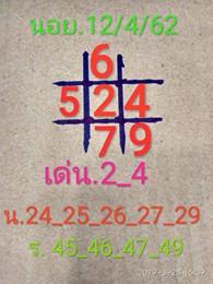 หวยฮานอยเด็ดๆ 12/4/62